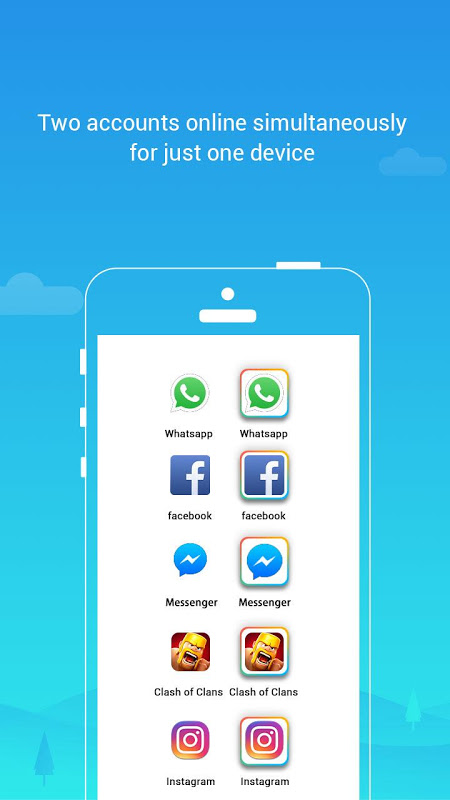 Parallel Space - Multiple accounts & Two face The App Store
