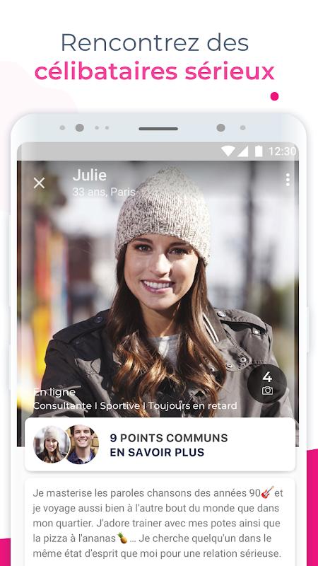 Meetic – Tchattez et rencontrez des célibataires The App Store android Code Lads