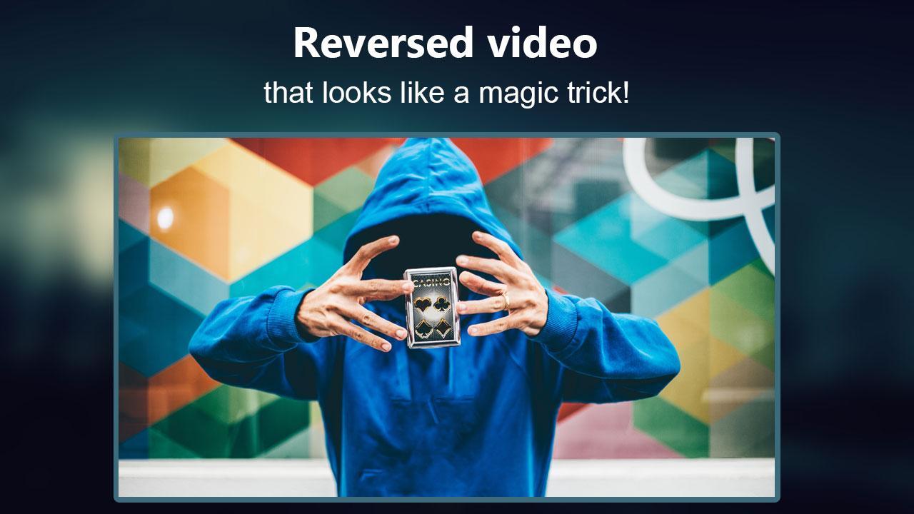 Reverse Movie FX - magic video The App Store