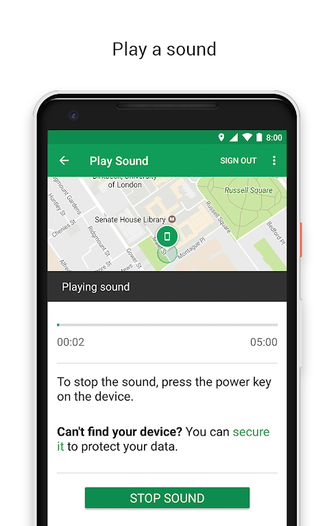Google Find My Device The App Store android Code Lads