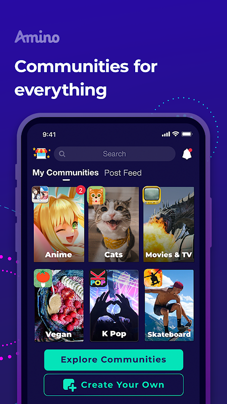 Amino: Communities and Chats The App Store android Code Lads