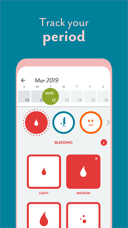 Clue Period Tracker - Ovulation and Cycle Calendar The App Store android Code Lads