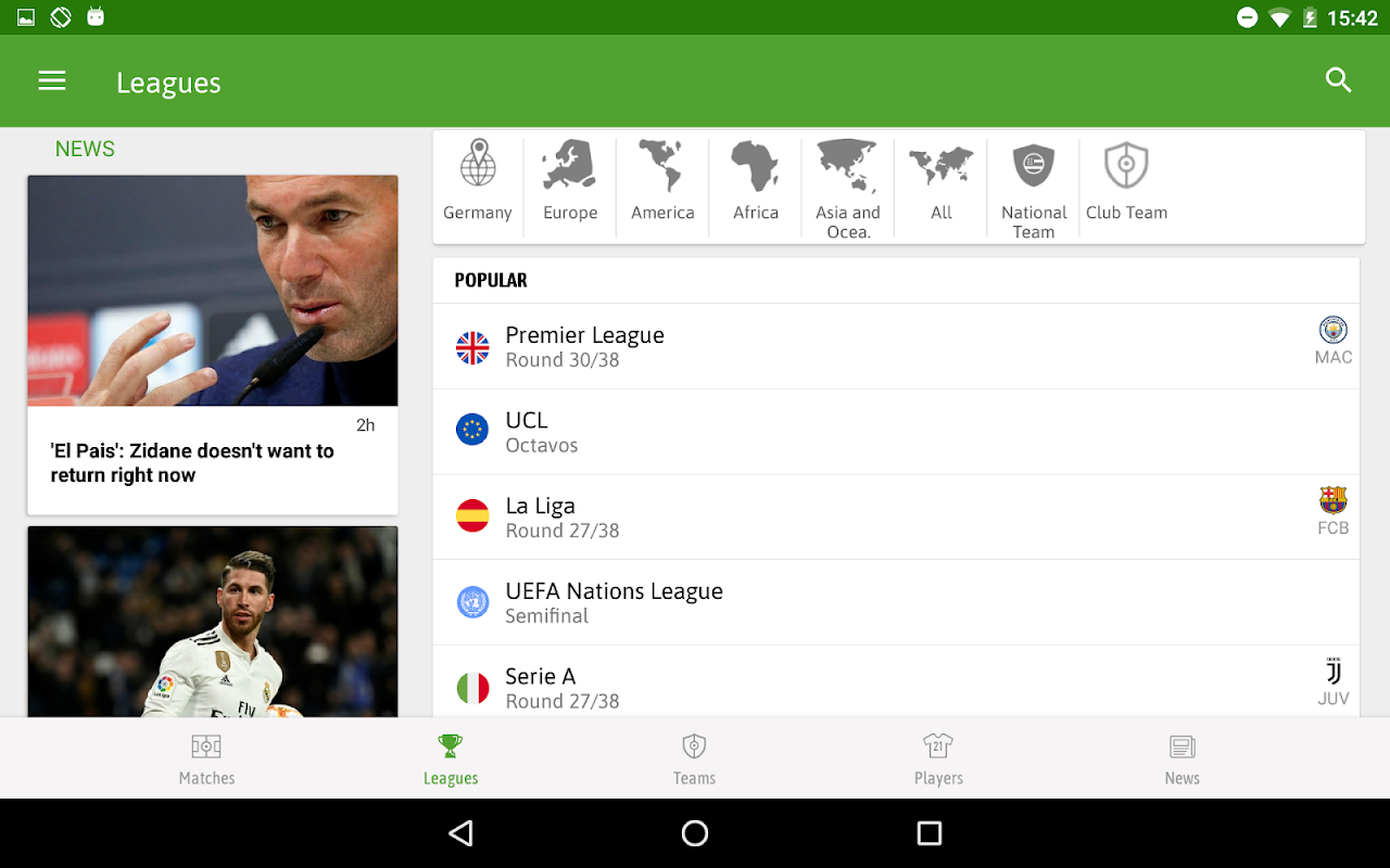 BeSoccer - Football Live Score The App Store