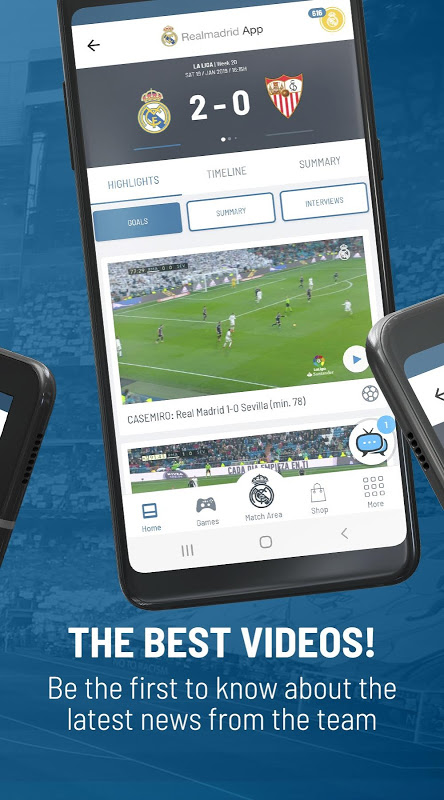 Real Madrid App The App Store