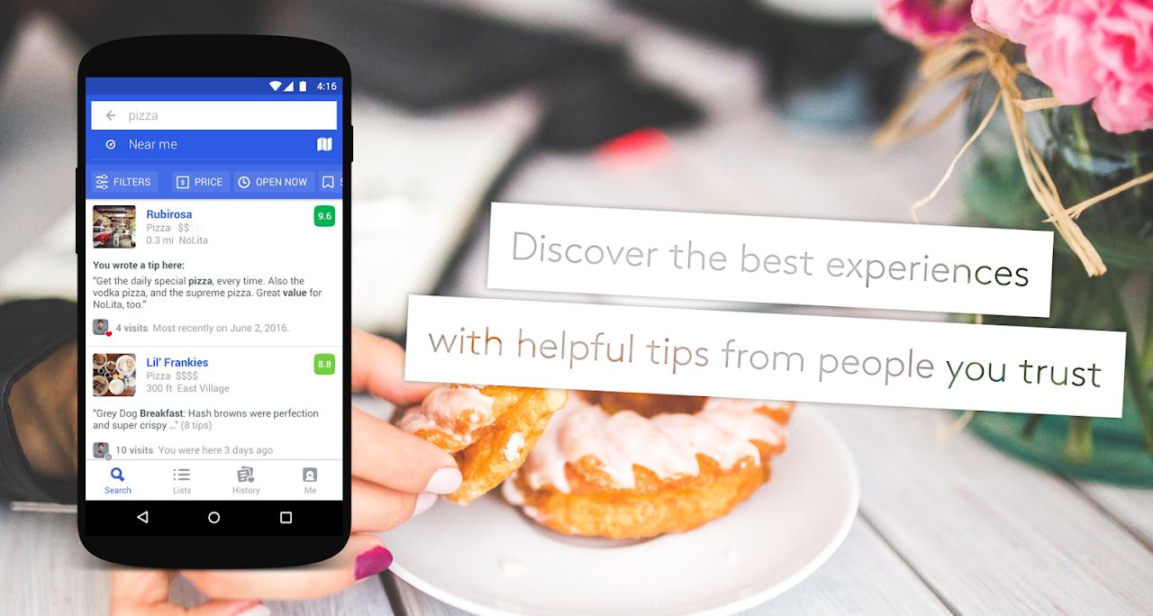 Screenshot Foursquare City Guide APK