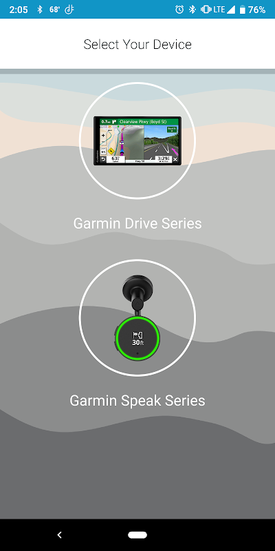Screenshot Garmin Drive APK