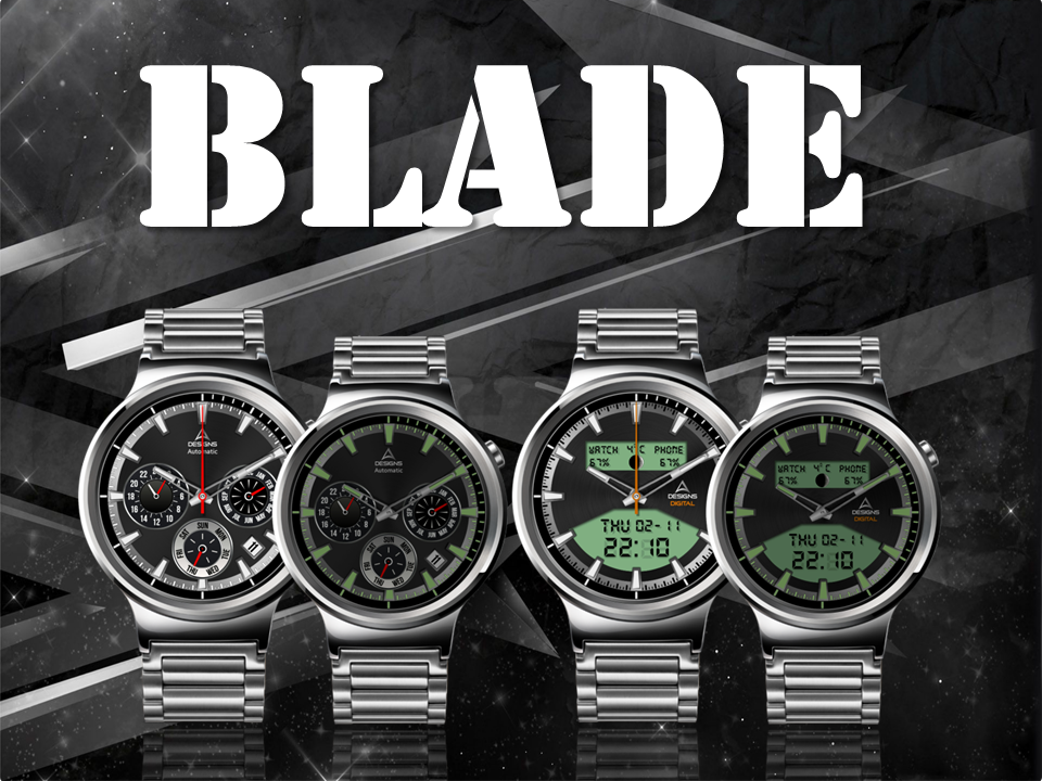 Blade Watch Face The App Store