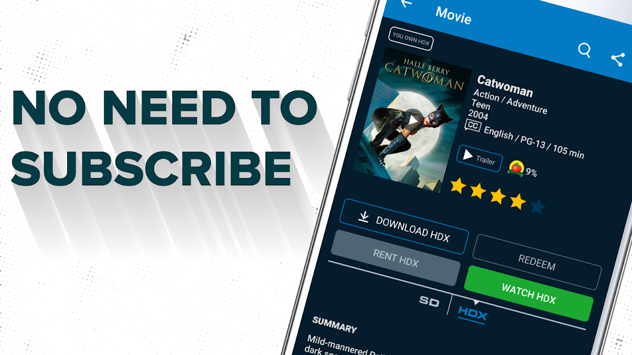 Vudu - Rent, Buy or Watch Movies with No Fee! The App Store