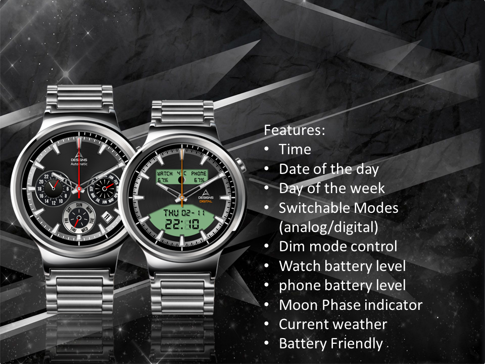 Blade Watch Face The App Store android Code Lads