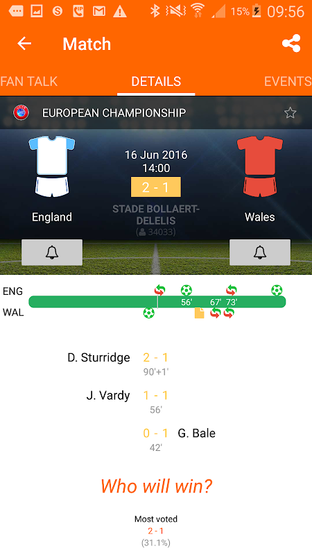 LiveSoccer - live scores The App Store android Code Lads