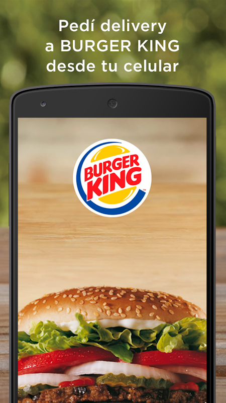 Burger King Argentina The App Store