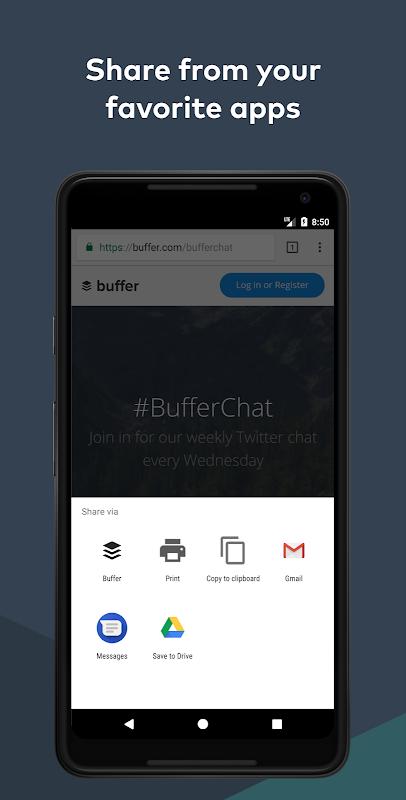 Screenshot Buffer: Social Media Manager APK