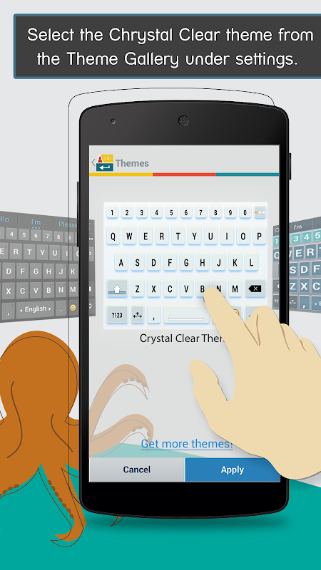 ai.type Crystal Clear Keyboard The App Store android Code Lads