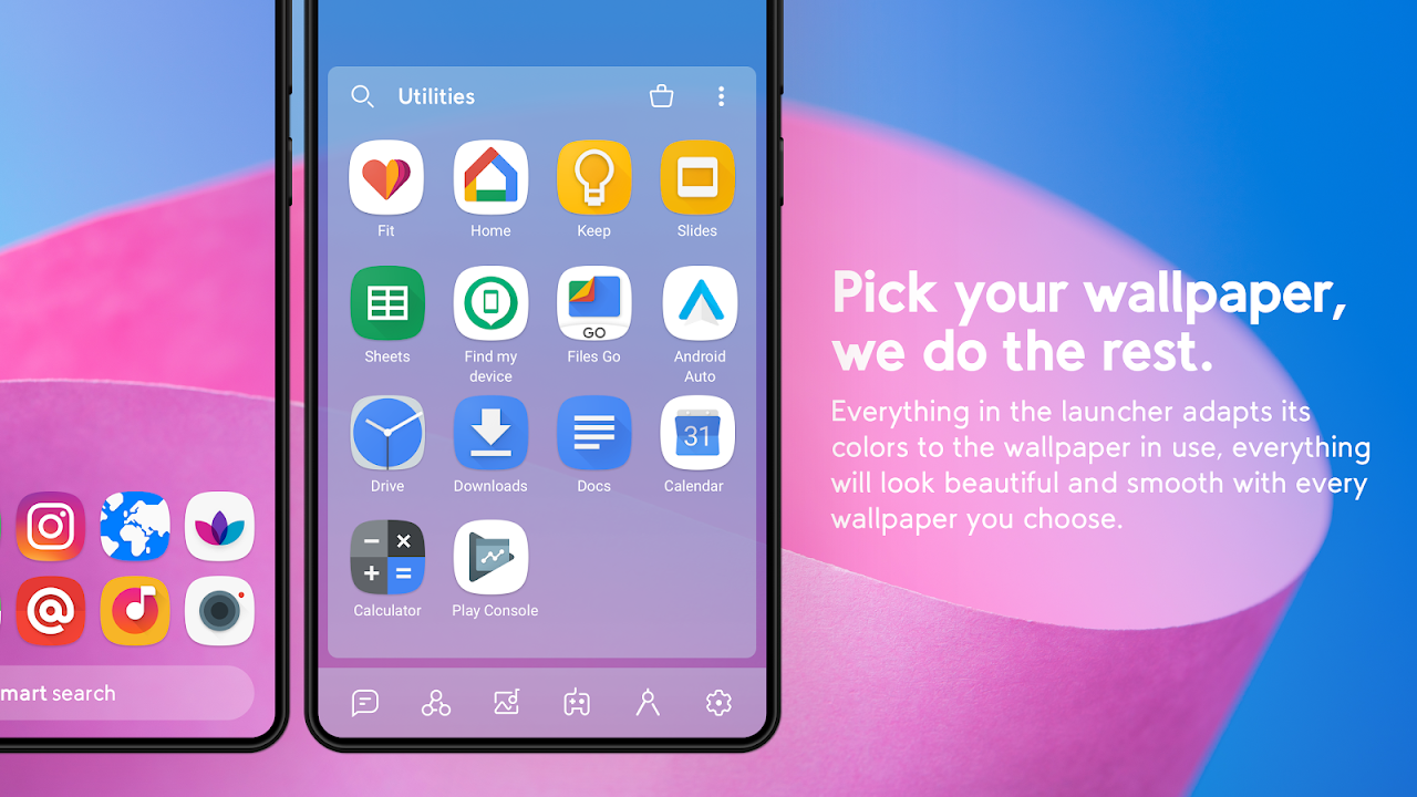 Smart Launcher 5 The App Store android Code Lads