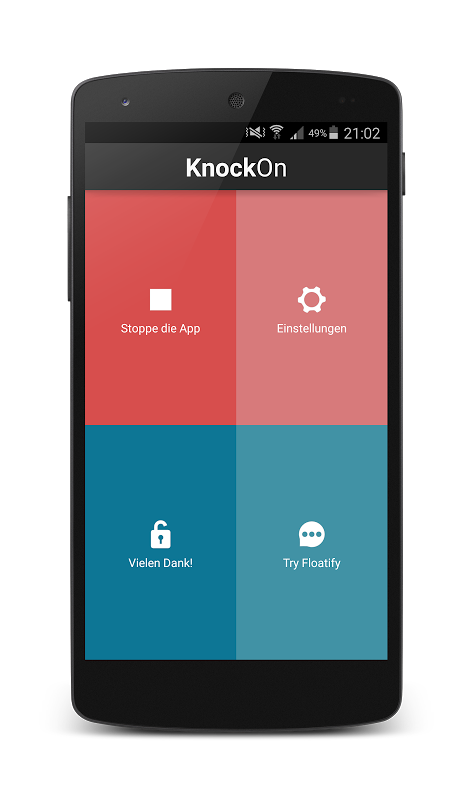 KnockOn Pro The App Store android Code Lads