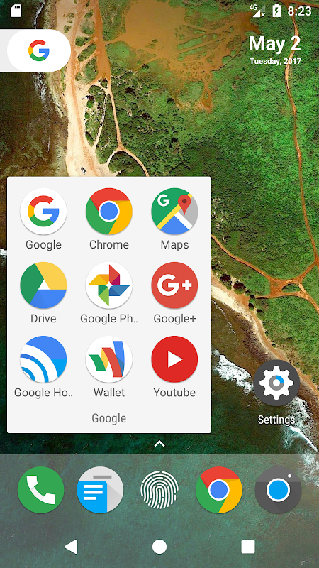 N Launcher Pro - Nougat 7.0 The App Store android Code Lads