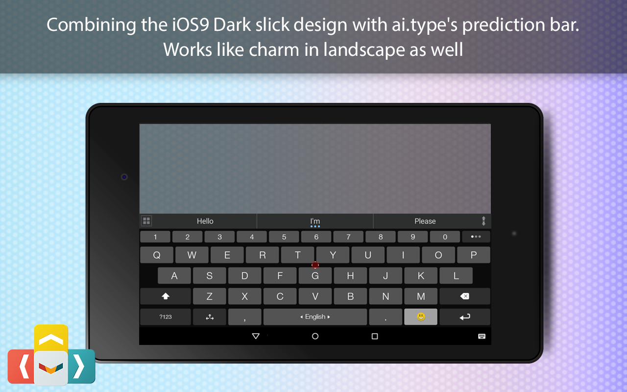 ai.type OS 12 Dark Keyboard The App Store android Code Lads