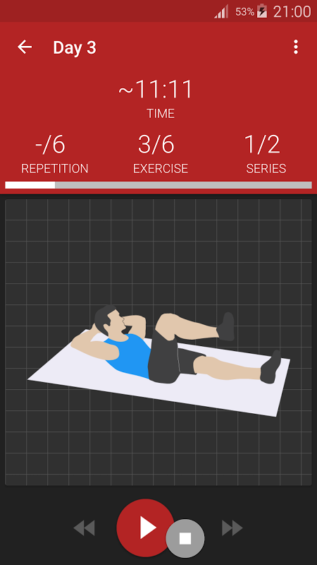 Abs workout PRO The App Store android Code Lads