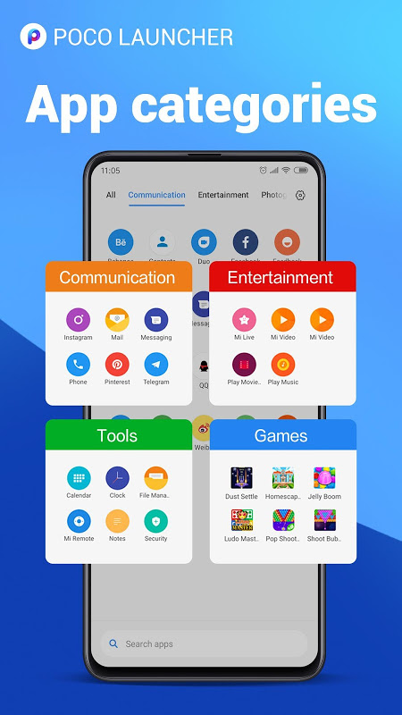 POCO Launcher 2.0- Customize,  Fresh & Clean The App Store android Code Lads