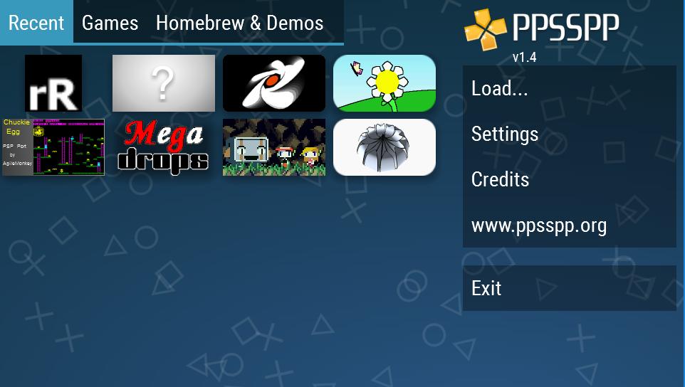 Screenshot PPSSPP Gold - PSP emulator APK