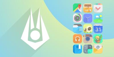 Vopor - Icon Pack Screen