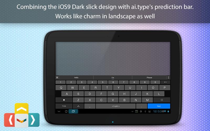 ai.type OS 12 Dark Keyboard The App Store