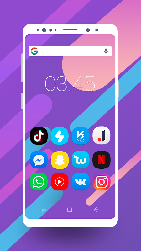 Screenshot UX S9 - Icon Pack APK