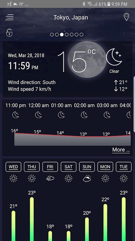 Screenshot Weather Live Pro APK