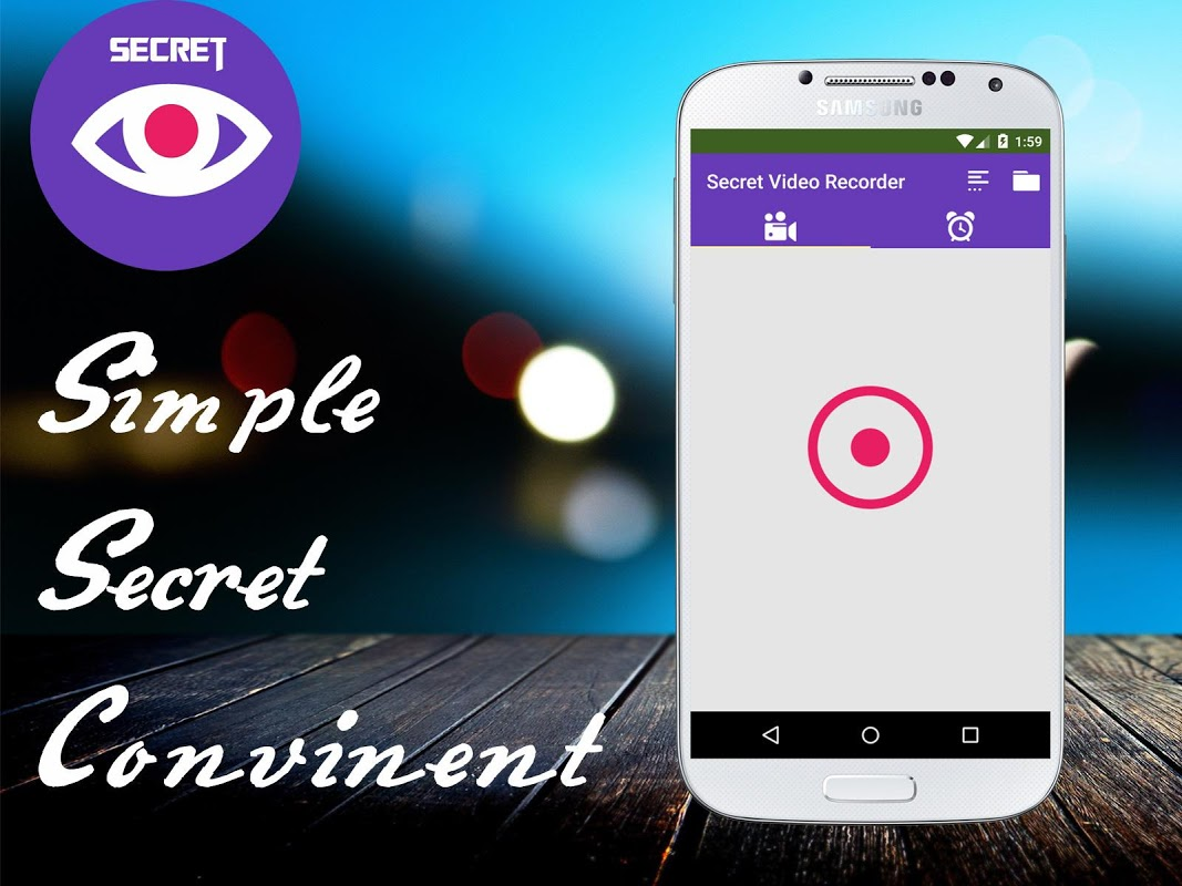 Secret Video Recorder The App Store android Code Lads