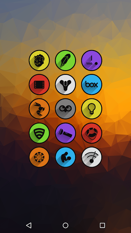Umbra - Icon Pack The App Store android Code Lads