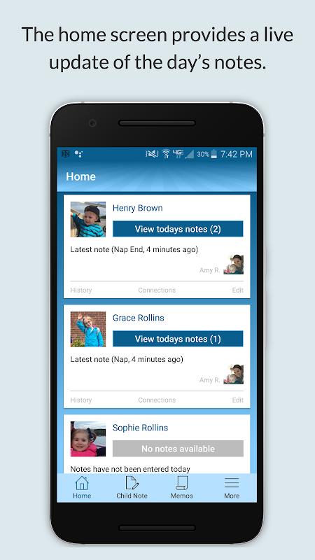 Screenshot NannyNotes - Baby tracker and child daily sheet APK