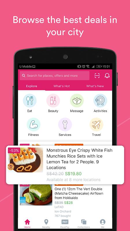 Fave - Deals & Cashback The App Store