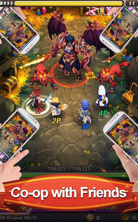 Screenshot Hyper Heroes: Marble-Like RPG APK