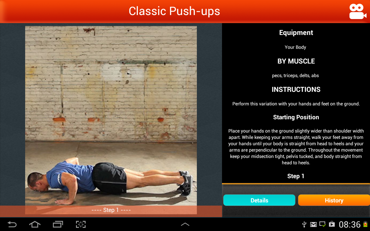 You Are Your Own Gym by Mark Lauren The App Store android Code Lads