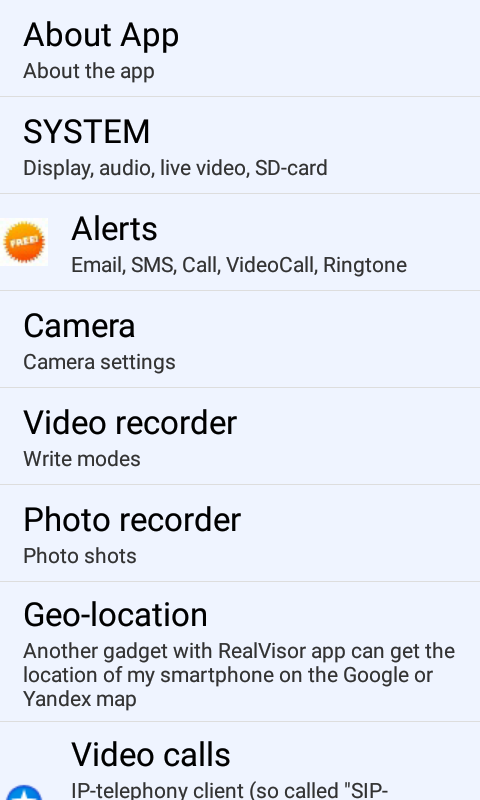 Screenshot USB camera, Endoscope, EasyCap, motion detector APK