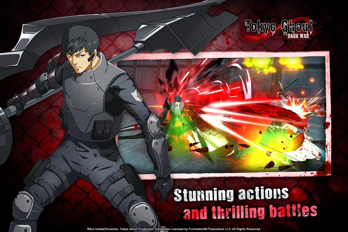 Tokyo Ghoul: Dark War The App Store android Code Lads