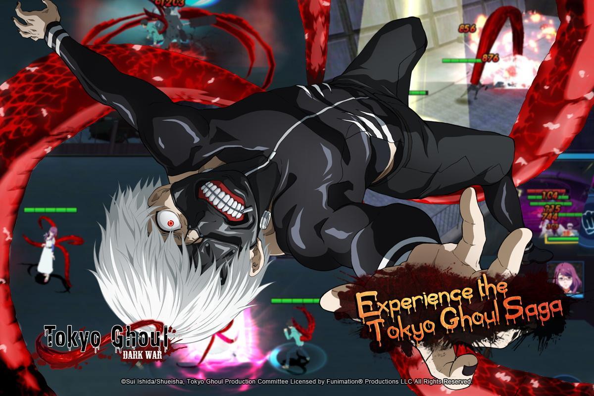 Screenshot Tokyo Ghoul: Dark War APK