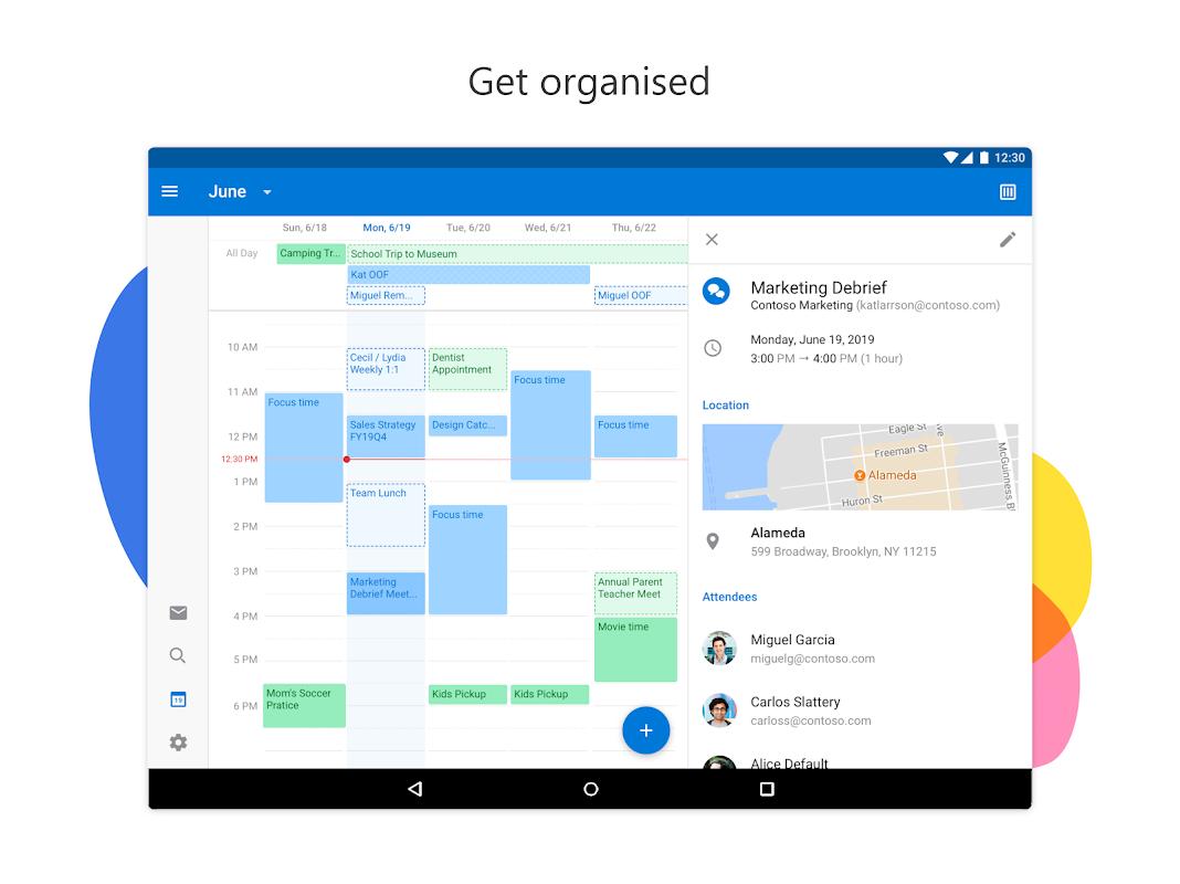 Screenshot Microsoft Outlook APK