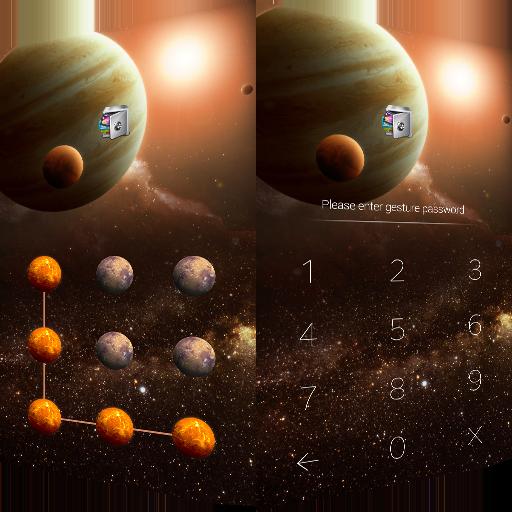 AppLock Theme Universe