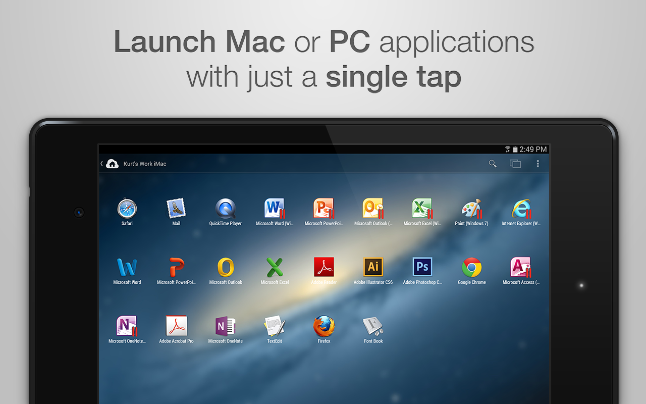 Screenshot Parallels Access APK