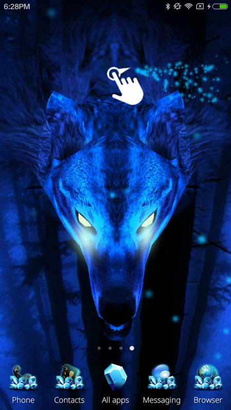 Ice Wolf 3D Theme The App Store android Code Lads