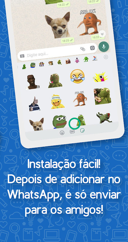 Brazil Funny Memes - Stickers Whatsapp The App Store android Code Lads