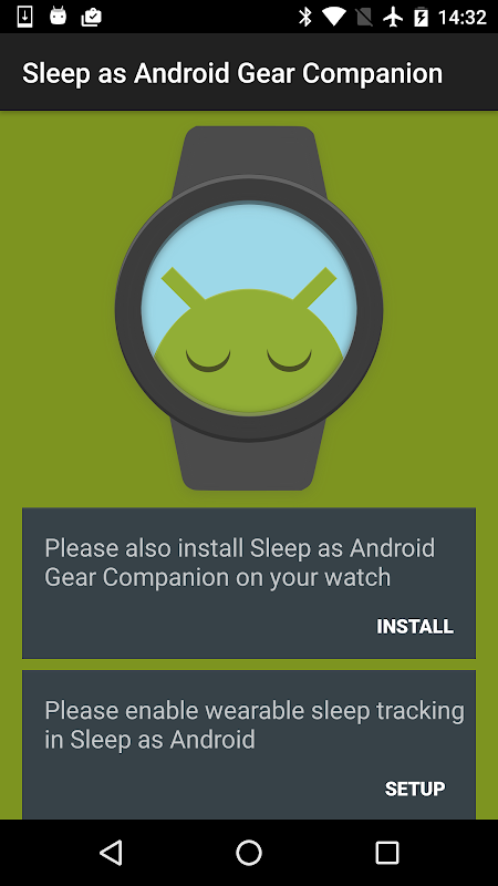 Screenshot Sleep as Android Gear Addon APK
