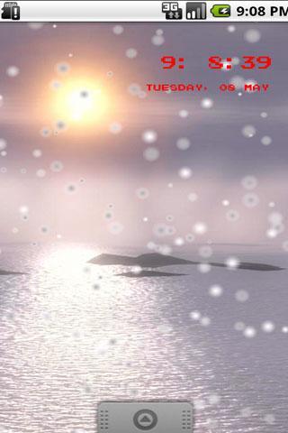 Screenshot Sunset 3D Live Wallpaper APK