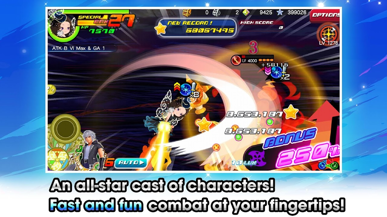 KINGDOM HEARTS Unchained χ The App Store android Code Lads