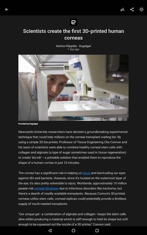 Screenshot Microsoft News APK