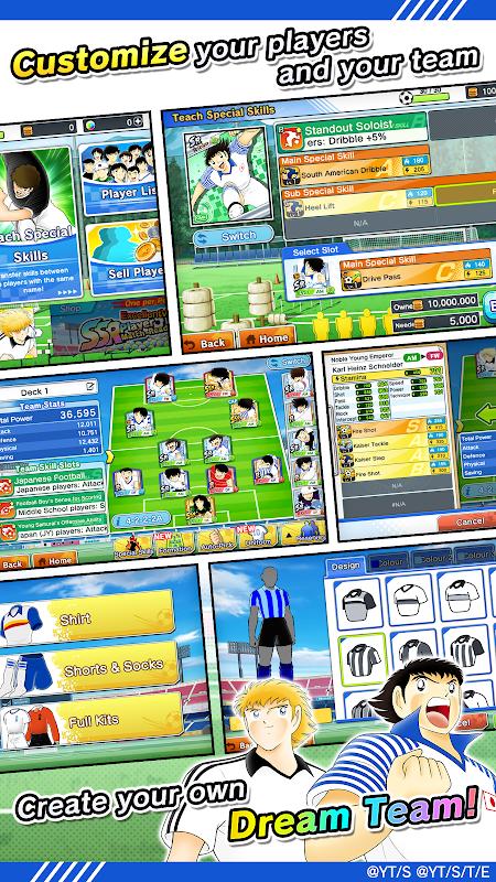 Screenshot Captain Tsubasa: Dream Team APK