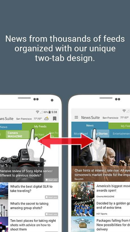 News Suite by Sony The App Store