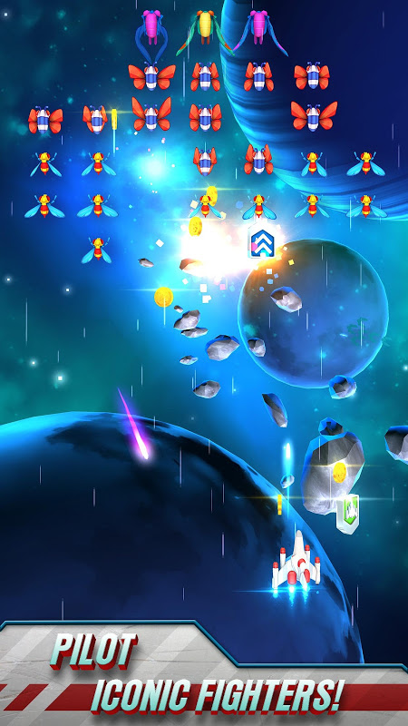 Screenshot Galaga Wars APK