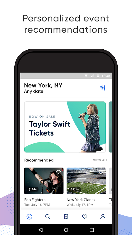 Screenshot SeatGeek – Tickets to Sports, Concerts, Broadway APK